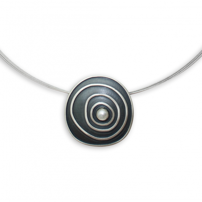 Silber mit Perle
